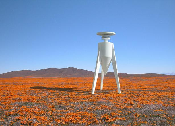 O interessante do projeto é que, quanto mais poluída a área, mais flores ela terá. | Foto: Divulgação.