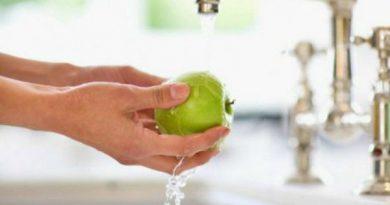 Dicas que ajudam retirar agrotóxicos de frutas e verduras