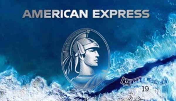 American Express terá cartão feito de plástico reciclado do mar