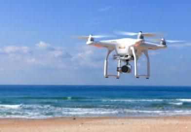 Os drones estão ajudando a coletar lixo nos oceanos