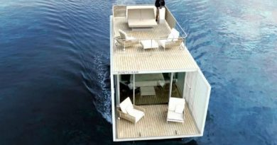 Punta del Mar: O hotel flutuante movido a energia solar